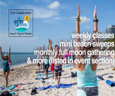 Beach Yoga Healing by Donation