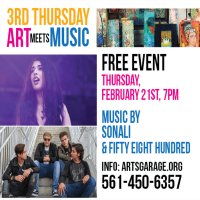 3rd Thursday – Art Meets Music
