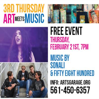 3rd Thursday – Art Meets Music