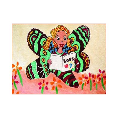 """Gema, the Curious Butterfly"""