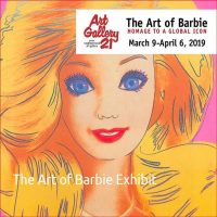 Exhibit GRAND OPENING: The Art Of Barbie: Homage To A Global Icon
