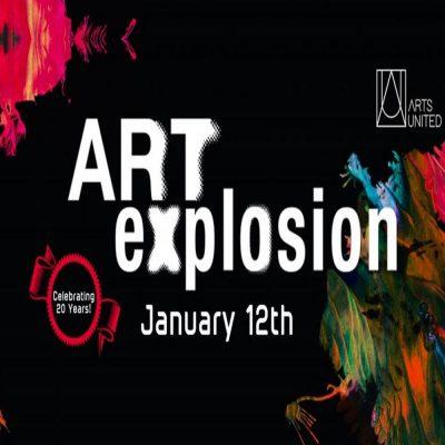 Reception: ArtsUnited presents ArtExplosion!