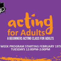 Acting for Adults 1