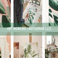 Art Working | Instagram 1, 2, 3