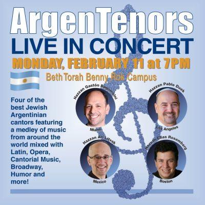 ArgenTenors Live in Concert