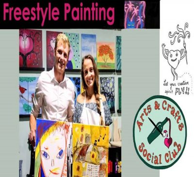Freestyle Paint & Sip Session