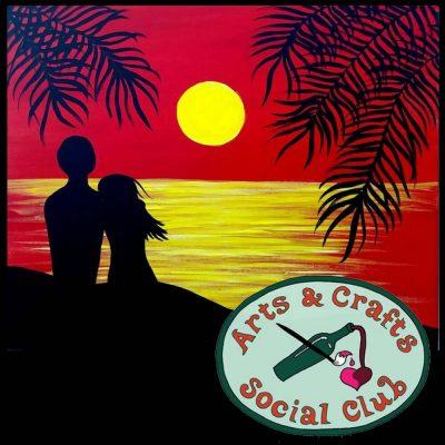 "BYOB Painting Class - ""Moonlit Romance"""