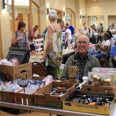 Two-Day Spring Flea Market and Bazaar Benefits Senior Programs