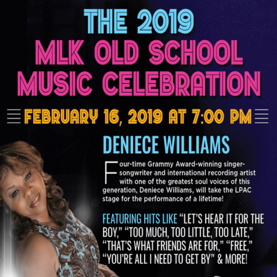 The 2019 MLK Old School Music Celebration