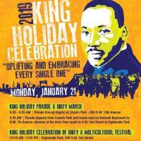 2019 King Holiday Celebration Weekend