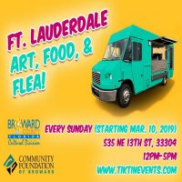 Fort Lauderdale Arts, Food, and Flea: Vendors