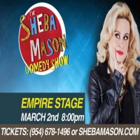 Join Sheba (WHO'S Act Includes Everything From Bruschetta To Morning Wood) And Friends For A Hilarious Night Of Comedy!