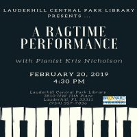 Ragtime Music Performance: Let's Boogie Woogie with Pianist Kris Nicholson!