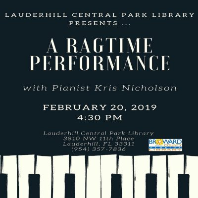 Ragtime Music Performance: Let's Boogie Woogie wit...