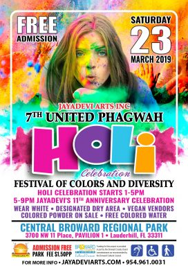 Festival of Colors and Diversity; 7th United Phagw...