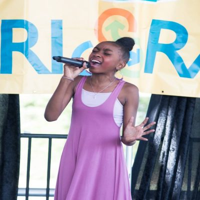 "Tri-Rail's ""South Florida Kids Got Talent"" Singing..."