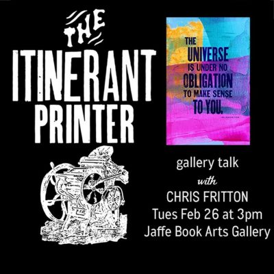 The Return of the Itinerant Printer