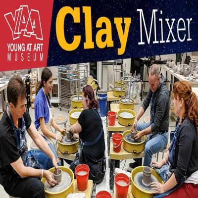 February Adult Clay Mixer