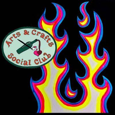 "BYOB Painting Class - ""Hot Rod Flames"""