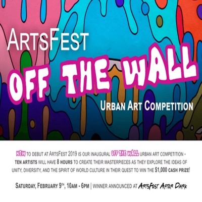 ArtsFEst 2019: OFF THE WALL urban art competition presented