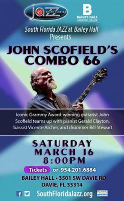 John Scofield's Combo 66 at Bailey Hall