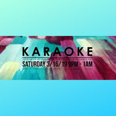 Karaoke at Limitless Gallery