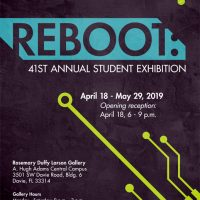 Reboot:41st Annual BC Student Exhibition