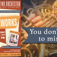 Spring Masterworks with the DCA Wind Orchestra