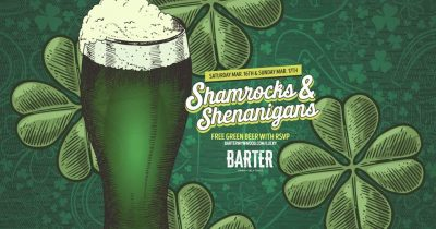 Shamrocks and Shenanigans - St. Patrick's Day Week...