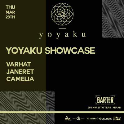 Yoyaku Showcase at Barter Wynwood