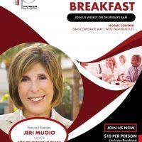 Mosaic Group Power Breakfast with Mayor Jeri Mouio...
