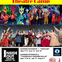 "SUMMER CAMP INTENSIVES: ""MATILDA"" and ""THOROUGHLY MODERN MILLIE"""