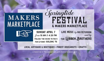 Springtide Festival and Makers Marketplace