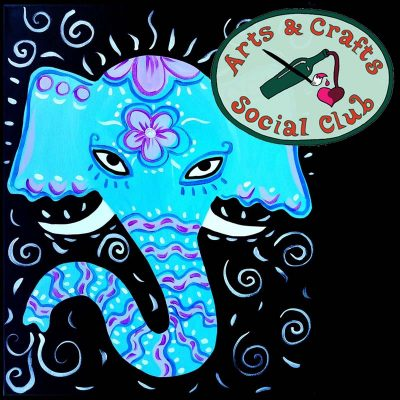 "BYOB Painting Class - ""Decorated Elephant"""