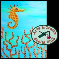 "BYOB Painting Class - ""Seahorse"""