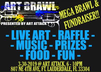 Mega Art Brawl and Fundraiser!