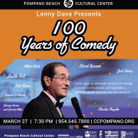 Lenny Dave Presents 100 Years of Comedy!
