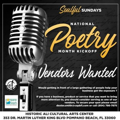 Soulful Sundays Call to Artists