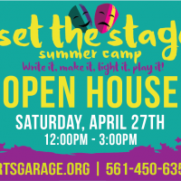 'Set the Stage' Summer Camp Open House