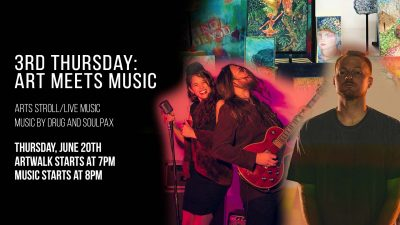 3rd Thursday Art Walk: Art Meets Music