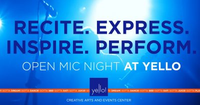 Open Mic Night at Yello!