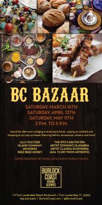 Sip, Savor and Shop at the Burlock Coast BC Bazaar
