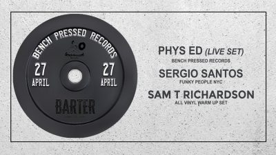 Bench Pressed Records Showcase at Barter Wynwood