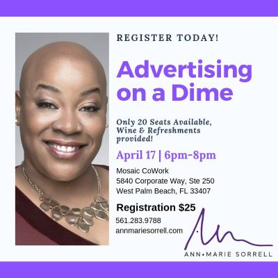 Advertising on A Dime With Ann Marie Sorell