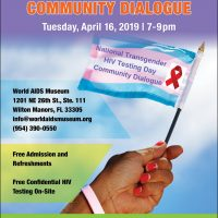 National Transgender HIV Testing Day Community Dialogue