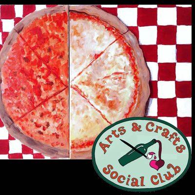 "BYOB Friends/Date Night Painting Class - ""Pizza"""