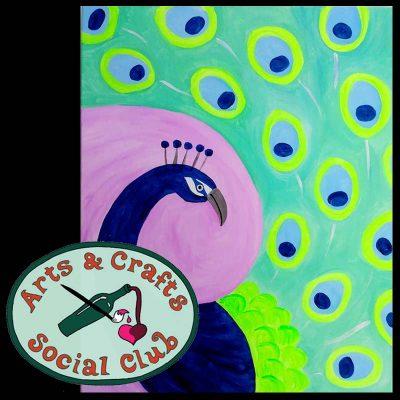 "BYOB Painting Class - ""Peacock"""