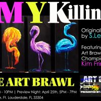 CMYKillin' It! Closing Night and Art Brawl