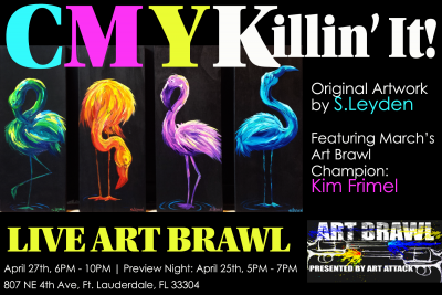 CMYKillin' It! Closing Night and Art Brawl