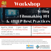 Free 48 Hour Film Project Workshop